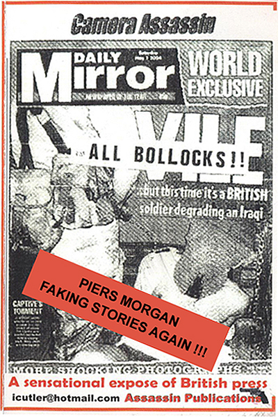 Lots of fake stories in The Mirror newspaper